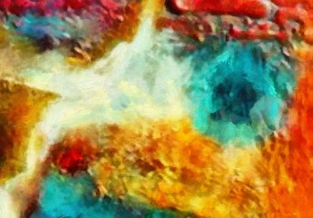 Abstract painting texture background. Textured brush strokes of oil.