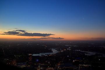 Sunset on Sydney