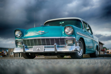 Photo sur Plexiglas Vintage voitures 56 Chev