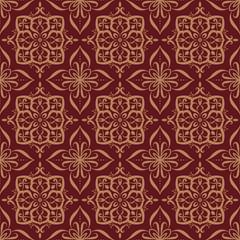 vintage luxury damask floral art pattern design