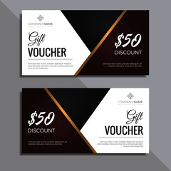 professional gift voucher template design