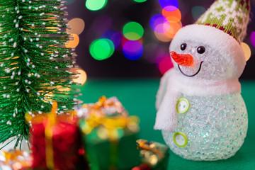クリスマスプレゼント クリスマスイメージ イルミネーション 玉ボケ