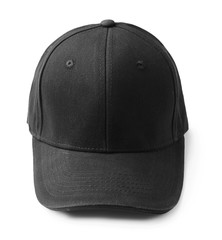 Blank cap for branding on white background