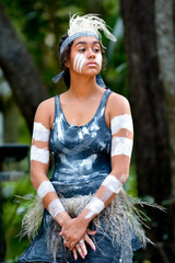 Young adult Indigenous Australian Woman