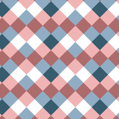 Geometry minimalistic pattern with squares. Abstract background with geometric shapes. Pattern for fabric, gift wrapping, paper design, wallpaper, textile, tile, carpet, ceramic. Vector illustration