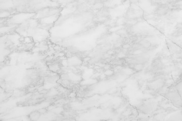 White marble patterned texture background. Marbles abstract natural black and white grey for interior design.