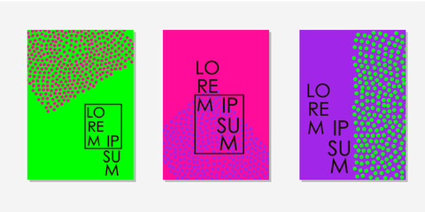 Colorful backgrounds. Templates for card, banner, poster, flyer, cover.