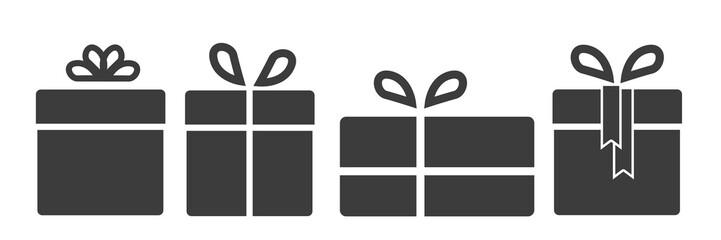 Piktogramm Set groß Geschenke