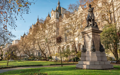 Sir James Outram statue, London, UK