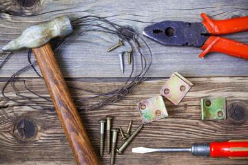 classic old locksmith tools