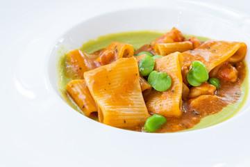 Italian cuisine for a wedding