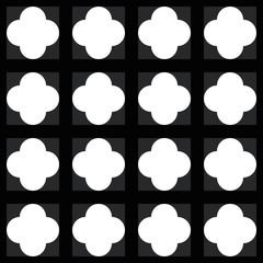 Geometric repeating tile