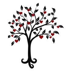 Tree of hearts emblem
