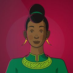 Illustration of princess