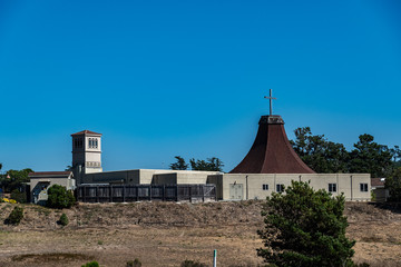 Santa Rosa Catholic church from HW1 - Cambria California