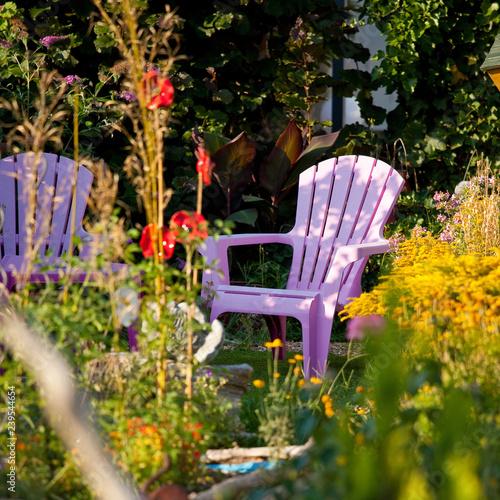 Petit jardin aménagé\