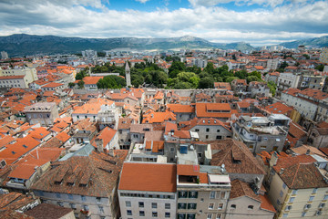 Views of Split, Croatia.
