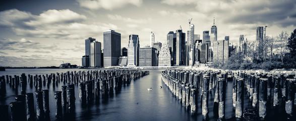 Downtown Manhattan skyline new york city