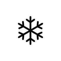 snowflake simple icon