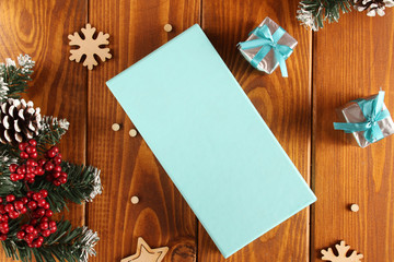 Christmas in tiffany color