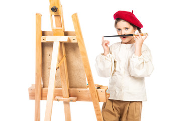 positive young artist