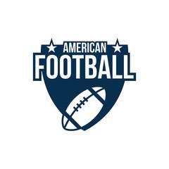 American football sport vector graphic design inspiration