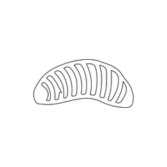 larva icon. Element of insect for mobile concept and web apps icon. Thin line icon for website design and development, app development