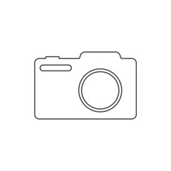photo camera icon. Element of web for mobile concept and web apps icon. Thin line icon for website design and development, app development
