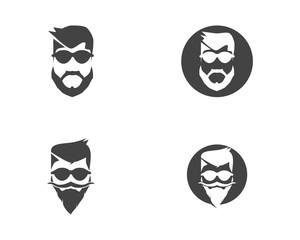 style haircut icon illustration