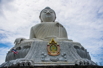 Big Buddah viewpoint and statue in Phuket
