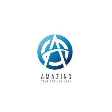 Amazing Logo Vector Template Design Illustration