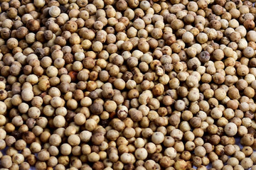background of peppercorns