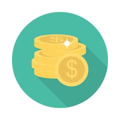dollar  coins  earning