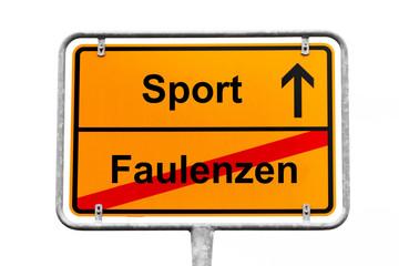 Sport Wegweiser