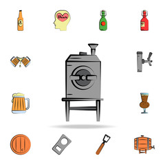 beer oven colored sketch style icon. Detailed set of color beer in hand drawn style icons. Premium graphic design. One of the collection icons for websites, web design