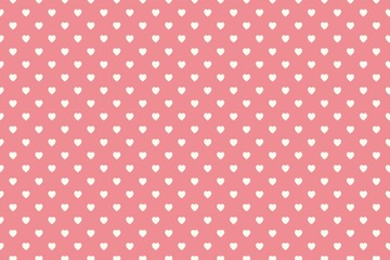 Hearts pattern background, valentines day concept