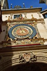 Rouen, France - september 9 2018 : the Gros Horloge