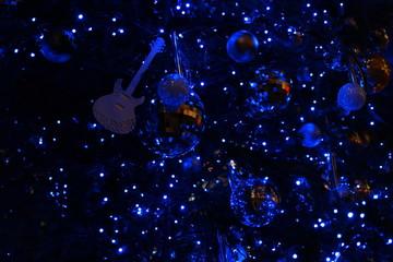 銀座の楽器屋さんのクリスマスツリー