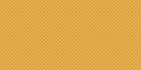 Seamless realistic wafer pattern for concept design. Sweet seaml