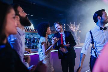 We found love on the dance floor