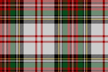 Multi coloured tartan patterns background