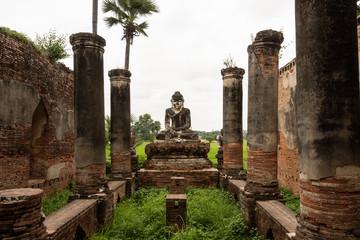 Ruinas antiguo templo. Myanmar