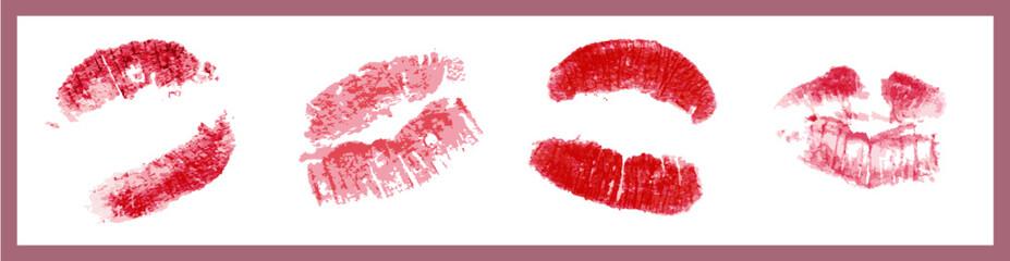Set kisses collection lipstick imprint