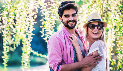Couple in love. Love and tenderness, dating, romance. Lifestyle concept