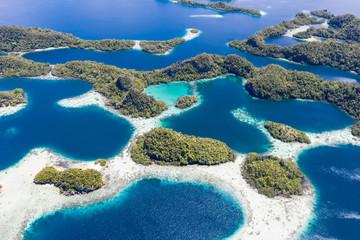 Incredible Limestone Islands and Reefs in Raja Ampat
