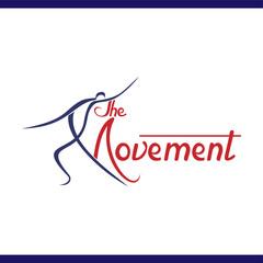 dance people logo vector template
