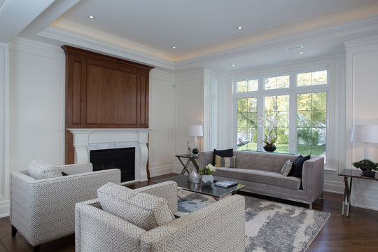 interior of a family room