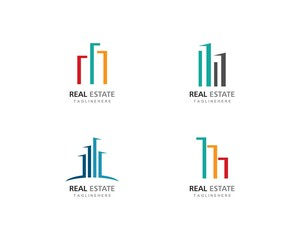Real Estate , Property and Construction Logo