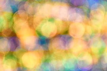 Blurred lighting bokeh background.