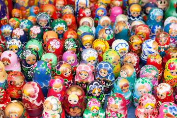 This is a Russian traditional doll, Matroschka.